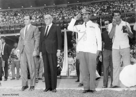 Inauguração do Mineirão - 1965